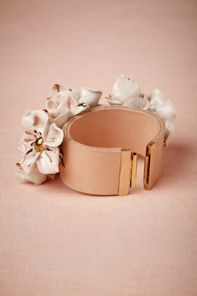 Andrés Gallardo white Antillia Bracelet | BHLDN