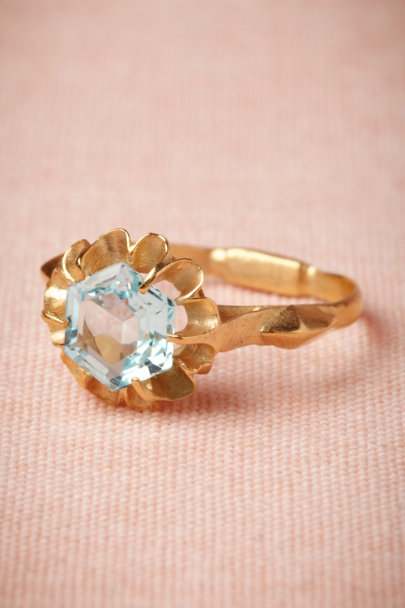 Cristina Zazo blue Invocation Ring | BHLDN