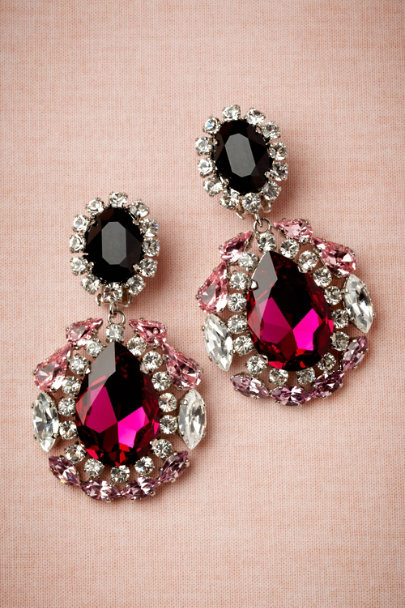 KORMELITZ pink Choreography Earrings | BHLDN
