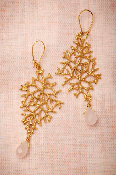 La Lueur de L'Aube gold Deep-Sea Drops | BHLDN
