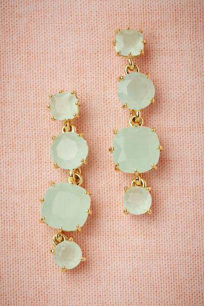 Les Néréides seafoam Coolmint Earrings | BHLDN