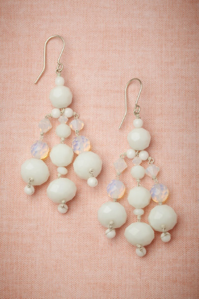 Philippa Kunisch white Pendulum Drops | BHLDN