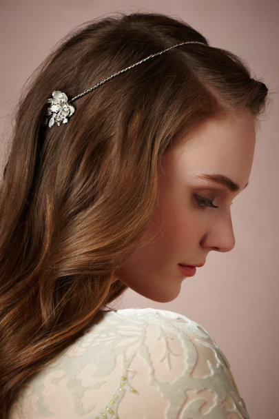 Debra Moreland silver Filigree Halo | BHLDN