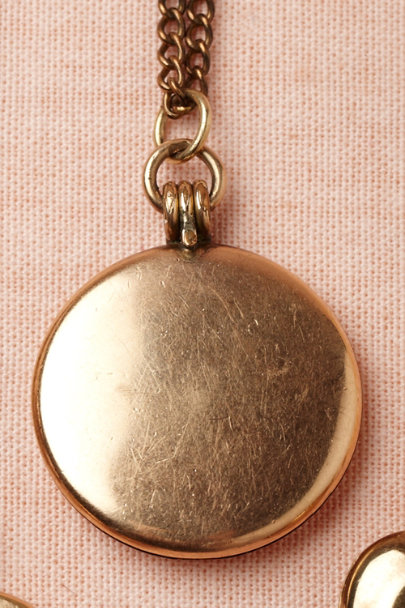 gold Colure Locket | BHLDN