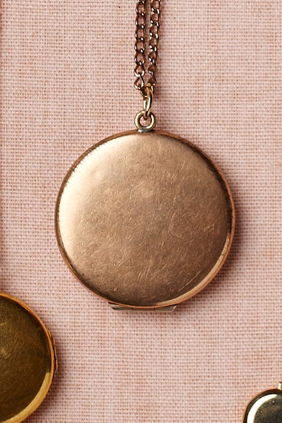 gold Izèda Locket | BHLDN