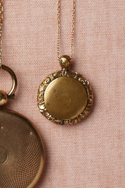 gold Sanctuary Locket | BHLDN
