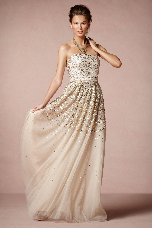 Wedding Gold Gown isadora gown in sale bhldn rachel gilbert champagne bhldn