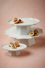 Portraiture Cake Stands
