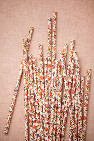 Blooming Shoppe Straws