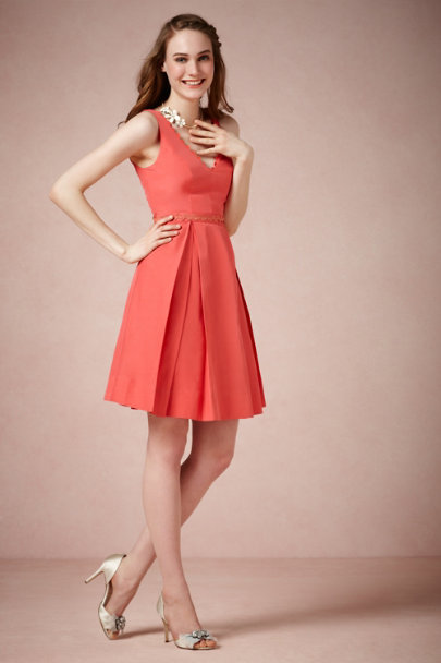 CORAL Calliope Dress | BHLDN
