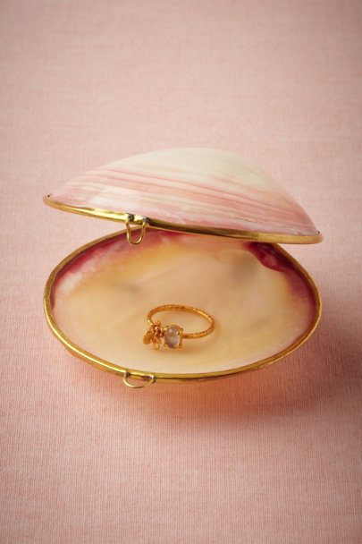 pink Sulu Sea Ring Holder | BHLDN