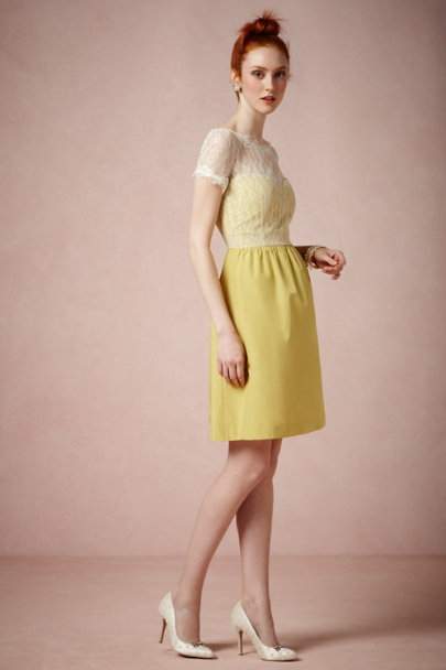 McGinn yellow Sorbetto Dress | BHLDN
