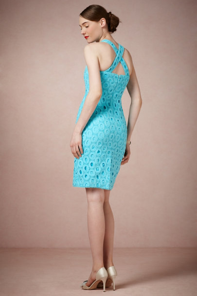 McGinn TURQUOISE Serenade Dress | BHLDN