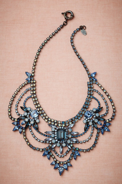 Elizabeth Cole blue Polar Seas Necklace | BHLDN