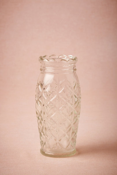 clear Argyle Vase | BHLDN