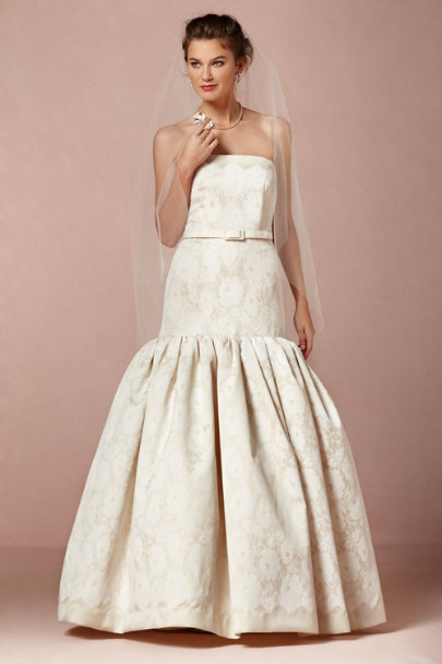 Milly Ivory Contessa Gown | BHLDN