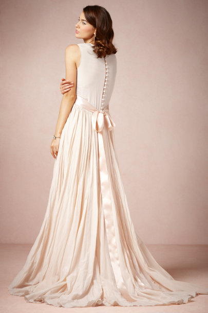 Peter Som rose Julie Gown | BHLDN
