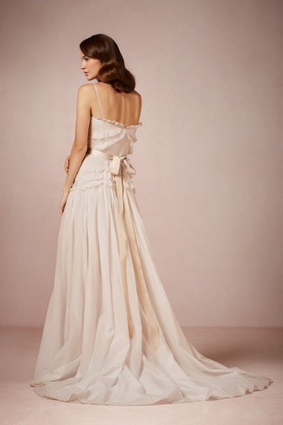 Peter Som tea stained Olivia Gown | BHLDN