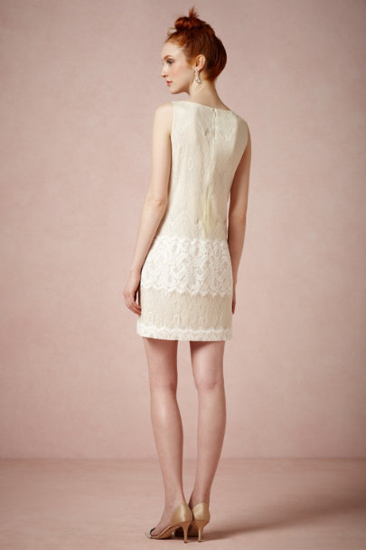 Peter Som Ivory Twiggy Dress | BHLDN