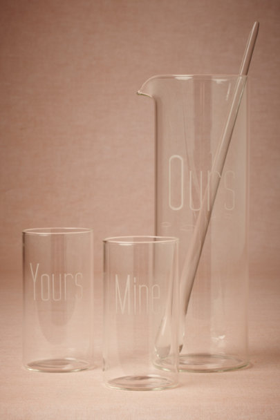 Yours, Mine, Ours Drink Set