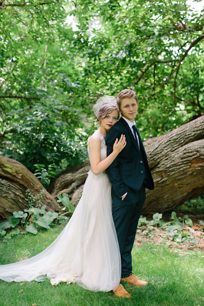 Catherine Deane Onyx Gown | BHLDN