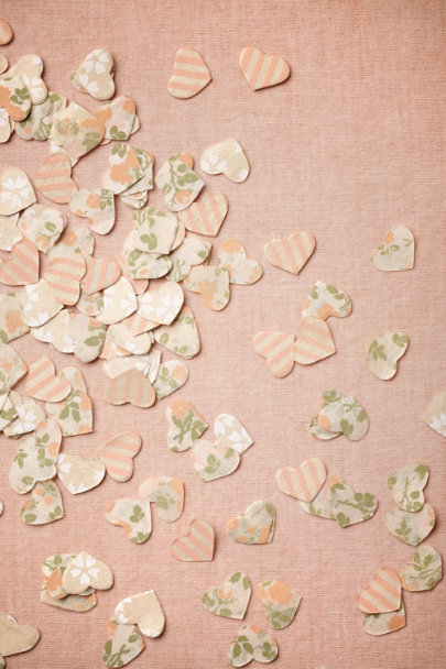 pink multi Heartburst Confetti | BHLDN