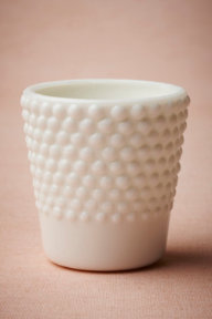 Milk Glass Hobnail Votive