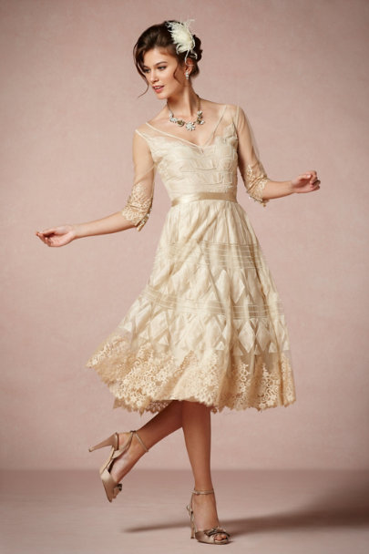 Tracy Reese Sand Charm School Dress | BHLDN