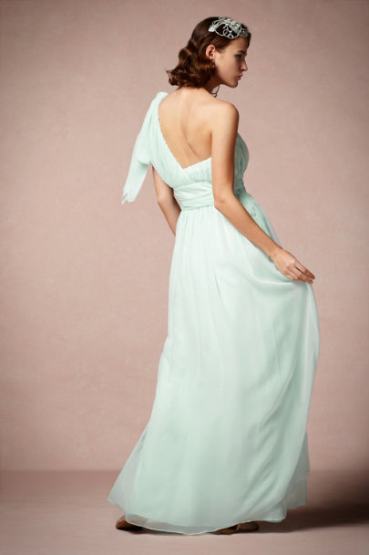 Coren Moore Serene Blue Thalia Maxi Dress | BHLDN