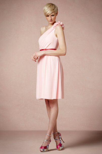 Pink Peony Nine Muses Dress | BHLDN