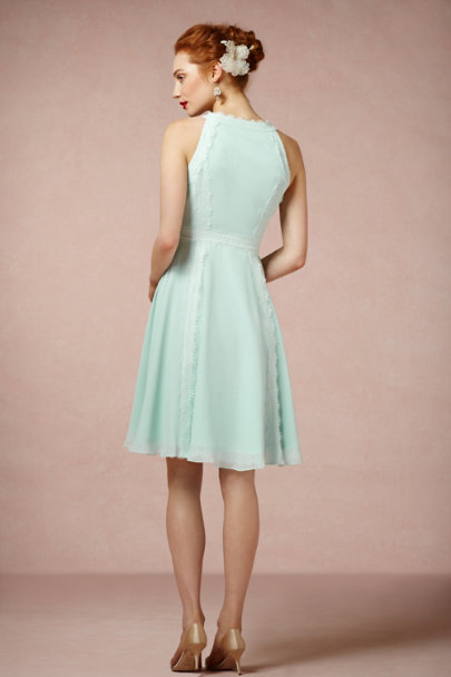 Serene Blue Wingspan Dress | BHLDN