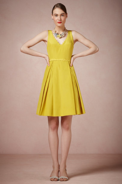 Yellow Calliope Dress | BHLDN