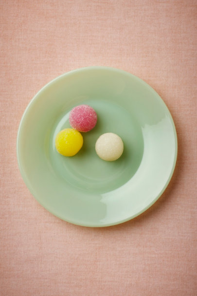 mint Jadeite Tidbit Plate | BHLDN