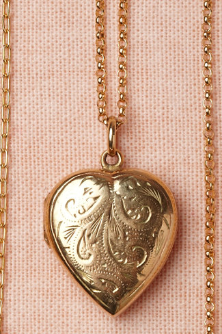 Enamored Heart Locket
