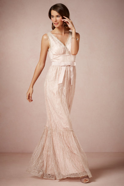 McGinn rose Idlewild Dress | BHLDN