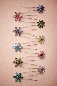 Small Wildflower Hairpins