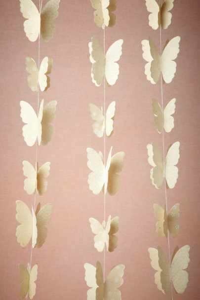 ivory Lacewing Garland (3) | BHLDN