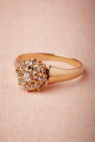 yellow gold Rockwood Ring | BHLDN