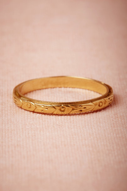 yellow gold Iacynth Ring | BHLDN