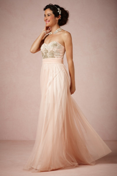 Badgley Mischka Rose Beaux Arts Dress | BHLDN