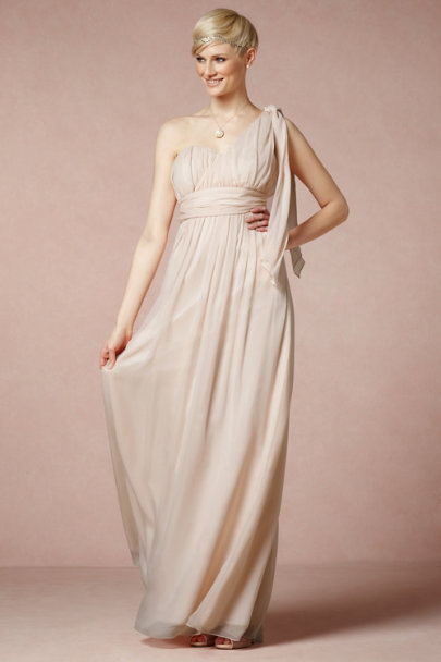 Coren Moore NUDE Thalia Maxi Dress | BHLDN