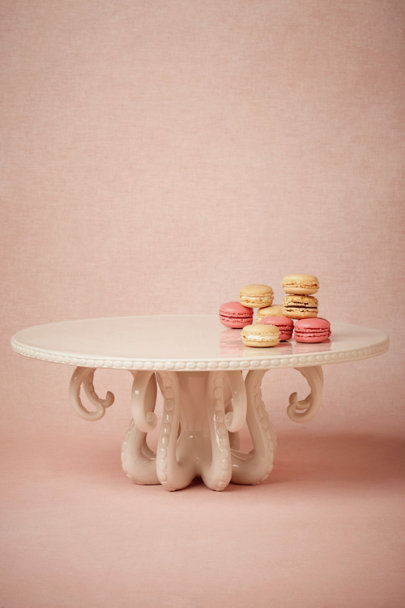 ivory Octopus Cake Stand | BHLDN