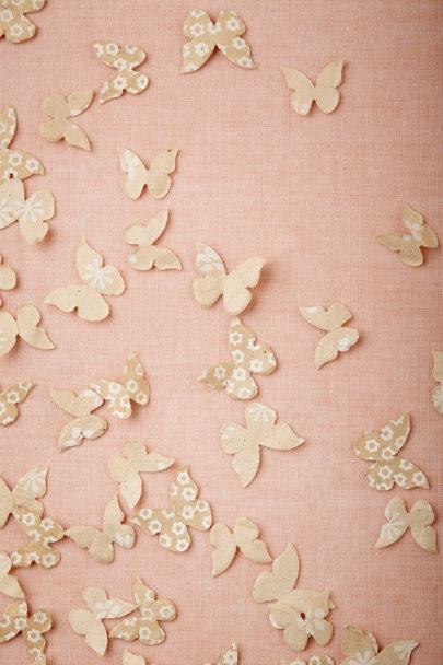 ivory Butterfly Confetti | BHLDN