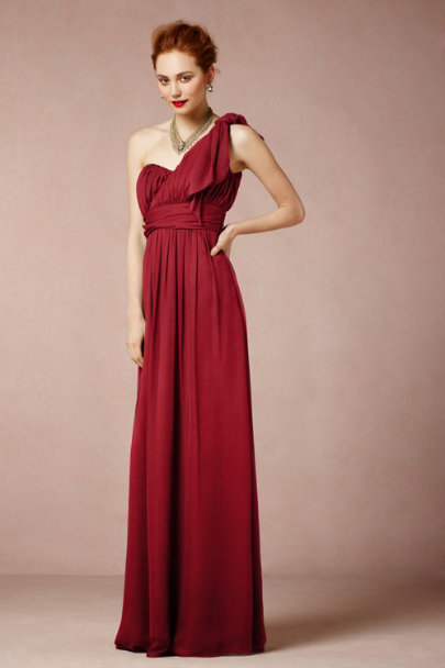 Coren Moore CRIMSON Thalia Maxi Dress | BHLDN
