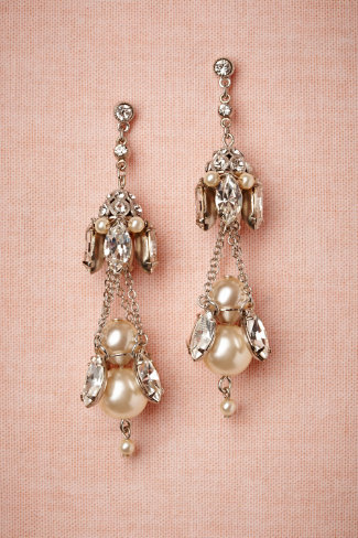 Gilted Pearl Chandeliers
