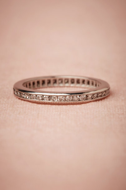 PLATINUM Promesa Ring | BHLDN