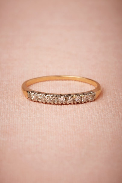 yellow gold Somerset Ring | BHLDN