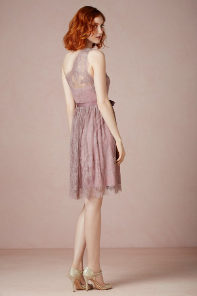 dusty MAUVE Ariel Dress | BHLDN