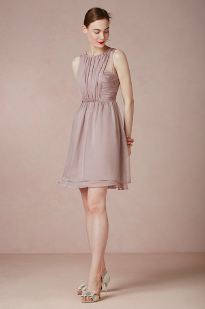 dusty MAUVE Daylily Dress | BHLDN