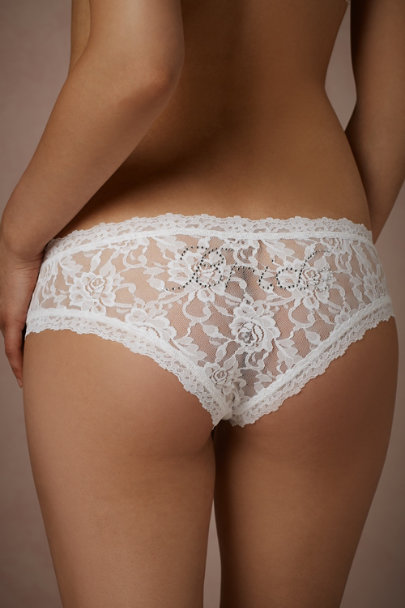White Coquette Knickers | BHLDN